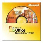 Microsoft Office Basic Edition 2003 Full Version OEM for Windows - 1 User/s Pack (S55-00099 )