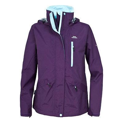 Trespass Women Numbered Waterproof Windproof Breathable Jacket Walking Hiking
