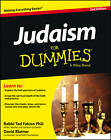 Judaism For Dummies by Rabbi Ted Falcon, David Blatner (Paperback, 2013)