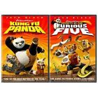 Kung Fu Panda/ Secrets of the Furious Five (DVD, 2008, 2-Disc Set, FS/WS Side-by-Side Packaging Sensormatic)
