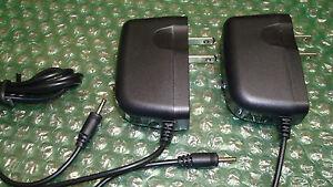 """Set of 2 High Quality Home Chargers for Nobis 7"""" NB07 / 9"""" NB09 Tablet (2.5mm)"""