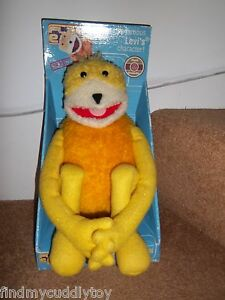 BOXED-NEW-24-034-FLAT-BEAT-ERIC-MR-OIZO-LEVI-501s-AD-SOFT-TOY-PARTIZAN-58006