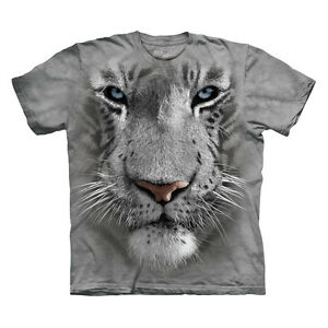 WHITE-TIGER-FACE-CHILD-T-SHIRT-THE-MOUNTAIN-IN-STOCK