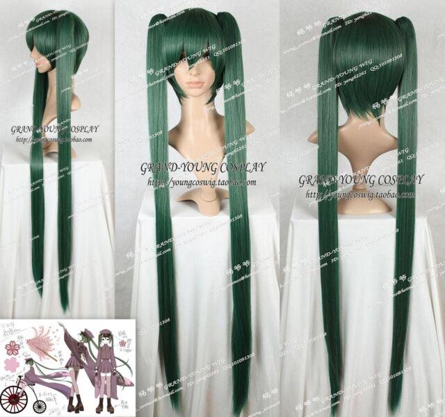 COSPLAY Senbon Sakura Miku Anime Manga Perücke Wig L:120cm Neu