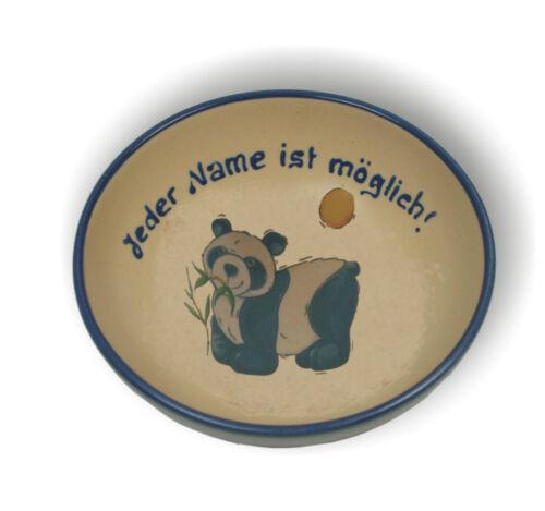 hippopotame 14cm// 17 cm Bol//Phoque Bol à céréales avec nom et image Animaux de zoo