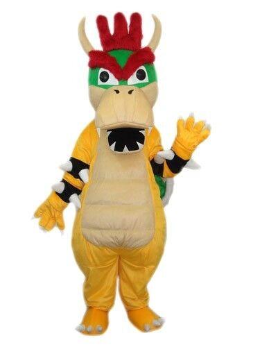 Koopa Dinasaur Mascot Costume  KOOPA CARTOON MASCOT COSTUME SUIT FOR HALLOOWEEN