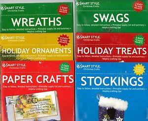 Smart-Style-Holiday-Craft-DVD-Your-Choice-of-6-Different-Programs-NEW