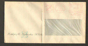 ST-GALLEN-SUISSE-ZOLLIKOFER-amp-Co-BUCHDRUCKEREI-Obliteration-Entreprise-1946