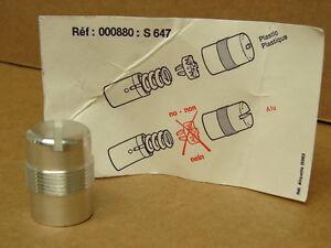 Vintage Aluminium Plug for Salomon 647 Downhill Ski Binding S 647 / 000 880