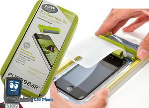 NEW-PURETEK-PUREGEAR-ROLL-ON-LCD-SCREEN-SHIELD-PROTECTOR-FOR-APPLE-iPHONE-4S-4