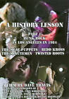 History Lesson, Part 1: Punk Rock in Los Angeles in 1984 (DVD, 2011)