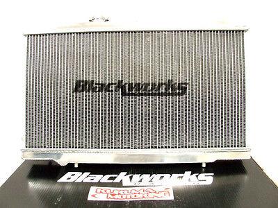 BLACKWORKS RACING ALUMINUM RADIATOR 93-96 MAZDA RX-7 FD