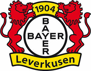 fanshop bayer 04 leverkusen logo als wandtattoo 4 gr en. Black Bedroom Furniture Sets. Home Design Ideas
