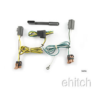 curt trailer hitch custom wiring harness connector 56056. Black Bedroom Furniture Sets. Home Design Ideas