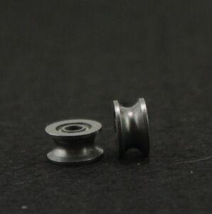 10-4x13x7mm-624UU-4mm-U-Groove-Guide-Pulley-Sealed-Rail-Ball-Bearing-4-13-7