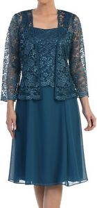 Mother-gown-Jacket-dress-NWT-Made-USA-black-white-burgundy-gold-silver-teal