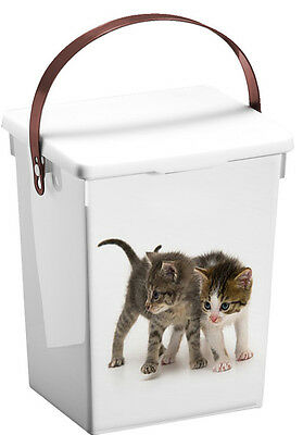 Pet Food Storage Container Dog Food or Cat Food Puppies or Kittens Design 5L