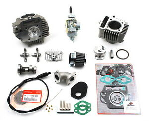 honda passport  cc big bore cylinder piston head carburetor kit ebay