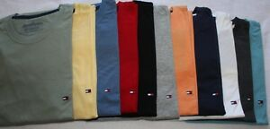 New-TOMMY-HILFIGER-Men-s-Crew-Neck-T-Shirt-XL-XXL-NWT