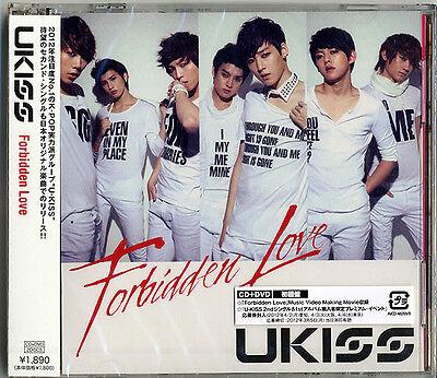 U-KISS-FORBIDDEN LOVE-JAPAN CD DVD TYPE A D73