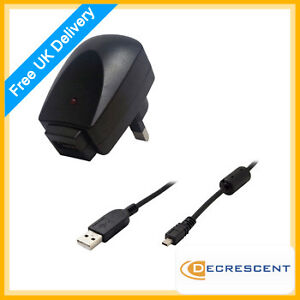 Decrescent-UK-Mains-Charger-for-Nikon-Coolpix-S1100pj-L110-S3000-S570-L21-S560