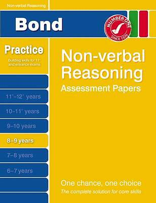 (Good)-Bond Non-Verbal Reasoning Assessment Papers 8-9 Years (Bond Assessment Pa
