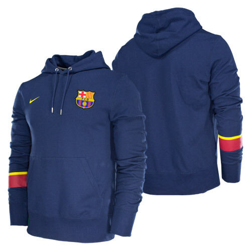 NIKE FC BARCELONA CORE HOODIE 2012/13 MIDNIGHT NAVY.