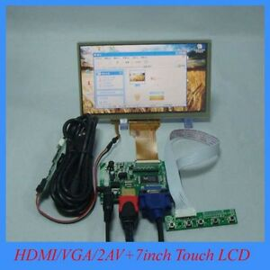 HDMI-VGA-2AV-Reversing-driver-board-7inch-800-480-lcd-display-with-touch-panel