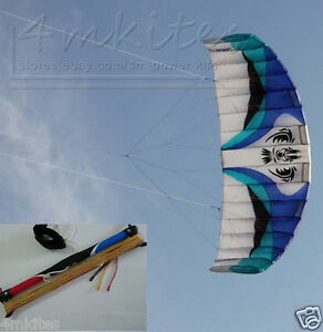 Pro-4m-3-line-control-power-water-trainer-kite-with-control-bar-400-300lbs-line