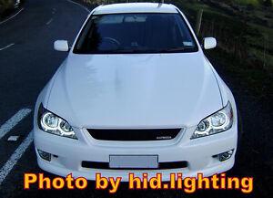 Lexus-IS200-IS300-Angel-Eye-Halo-Light-Ring-CCFL-Kit-White-Headlight-bulb-lamp