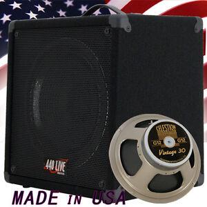 1x12 Guitar Speaker Cabinet W Celestion Vintage 30 Speaker