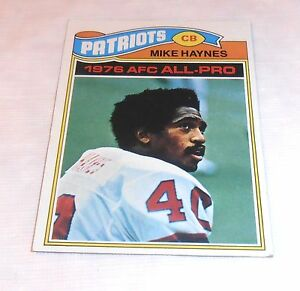1977-TOPPS-MIKE-HAYNES-ROOKIE-50-EX-NEW-ENGLAND-PATRIOTS