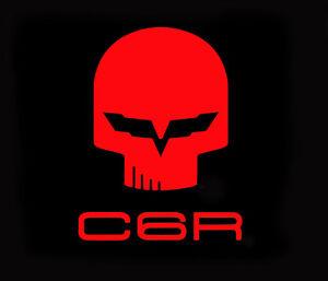 C6 Corvette Jake Racing Skull Vinyl Decal Stickers: Z06 GS ZR1 LS7 LS3 LS9 LSX   eBay