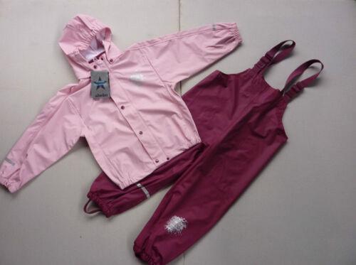 Abeko Bambini Pioggia Tuta Taglia 80-130 Pioggia Giacca Pantaloni Pioggia regenset Buddel Pantaloni Nuovo