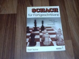 Rudolf-Teschner-SCHACH-LEHRBUCH-fuer-FORTGESCHRITTENE-Probleme-Angriffsplaene