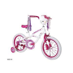 dynacraft 16 inch girls bike hello kitty ebay. Black Bedroom Furniture Sets. Home Design Ideas