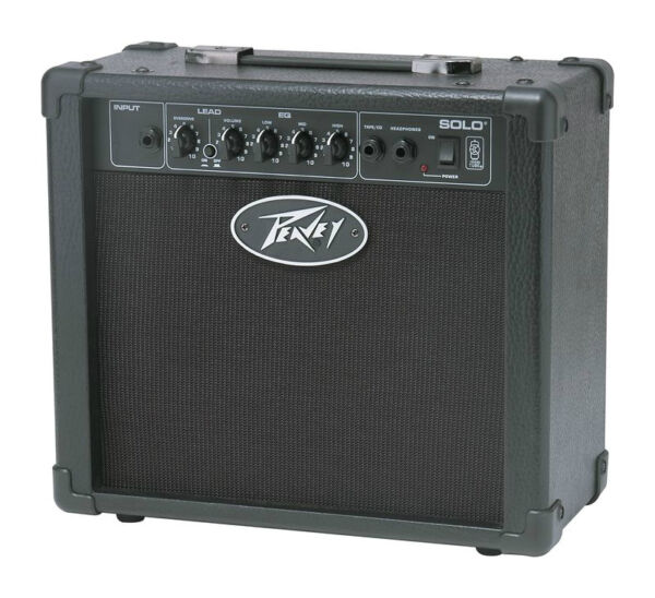 peavey solo 15 watt guitar amp ebay. Black Bedroom Furniture Sets. Home Design Ideas