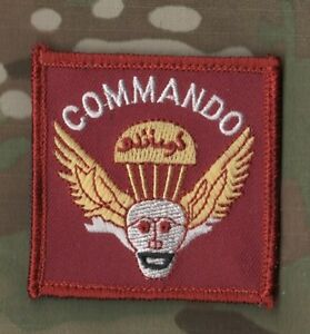 AFGHAN NATIONAL ARMY SSI SHOULDER SLEEVE INSIGNIA: ANA COMMANDO INSIGNIA