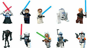 image is loading lego star wars character cut outs x 10