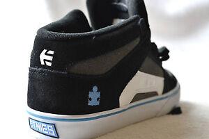 Etnies-RVM-VULC-Black-Grey-White-Skate-Shoes-Fashion-Trainers-UK-5-RRP-54-99