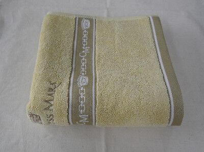 New Bath Towel 100% Cotton Lemon Chiffon Color Premium 30 Embroidery Baby towel