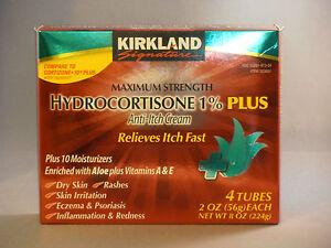 Kirkland-Generic-Maximum-Strength-Hydrocortisone-1-Anti-Itch-Cream-4-2oz-Tubes