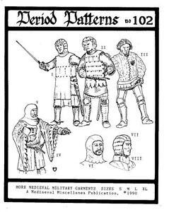 More-Medieval-Military-Garments-Pattern-II-Renaissance-Faire