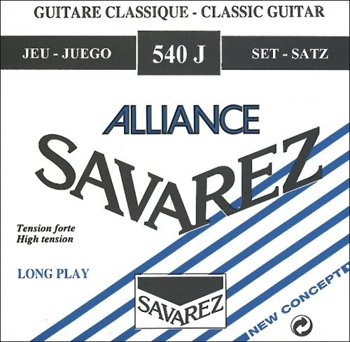 Carbonsaiten Gitarre Savarez Concert Alliance 540J hard tension