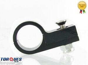 AN-10-10AN-AN10-Black-16mm-O-D-TEFLON-Hose-Clamp-P-Clip-Billet-Aluminium