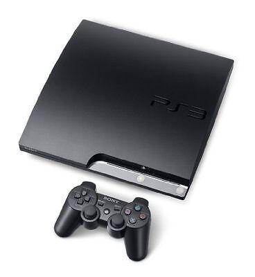 Sony PlayStation 3 Slim 250GB Charcoal Black Console (CECH-2004B)