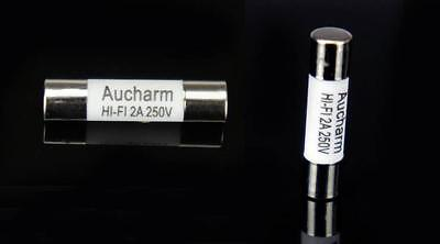 Aucharm Audio 99% Silver Alloy Fuse Tube 5x20mm 6A