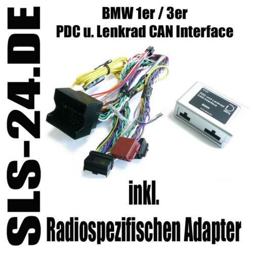Pdc can bus Interface Radio Adaptador volante BMW 3er e90 e91 e92 e93 Alpine Sony