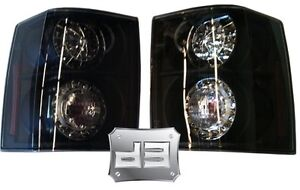 2003 09 Range Rover Black Led Tail Lights Hse Supercharged