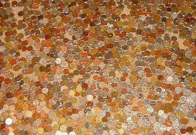 90 Old & New Foreign World Coins Lot/Bag